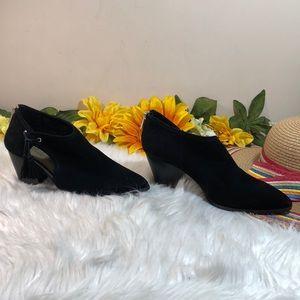 Bella Vita Shoes - Bella Vita Suede Shooties 8M